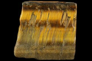 "Buy 2.1"" Polished Tiger's Eye Slab - South Africa - #112318"