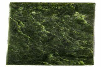 "Buy 5.4"" Polished Canadian Jade (Nephrite) Slab - British Colombia - #112741"