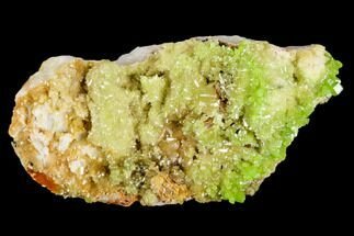 "2.4"" Apple-Green Pyromorphite Crystal Cluster - China For Sale, #112211"