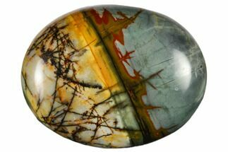 "Buy 1.8"" Polished Cherry Creek Jasper Pocket Stone  - #116266"