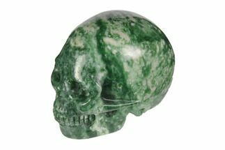 "Buy 2"" Realistic, Polished Hamine Jasper Skull - #116521"