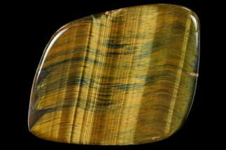 "Buy 2.5"" Polished Tiger's Eye Slab - Western Australia - #117199"