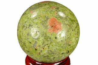 "Buy 1.55"" Polished Unakite Sphere - Canada - #116131"