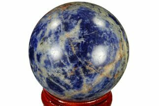 "Buy 1.6"" Polished Sodalite Sphere - Africa - #116140"