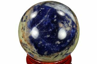 "1.55"" Polished Sodalite Sphere - Africa For Sale, #116159"