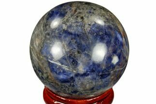 "Buy 1.6"" Polished Sodalite Sphere - Africa - #116161"