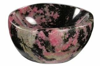 "Buy 5.1"" Polished Rhodonite Bowl - Madagascar - #117970"