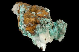 Aurichalcite & Calcite - Fossils For Sale - #119199