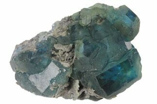 Fluorite & Quartz - Fossils For Sale - #120327