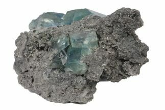Fluorite & Quartz - Fossils For Sale - #120330
