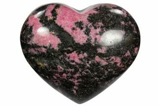 "Buy 3.85"" Polished Rhodonite Heart - Madagascar - #117361"