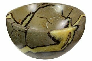 "5.5"" Polished Septarian Bowl - Madagascar For Sale, #120221"