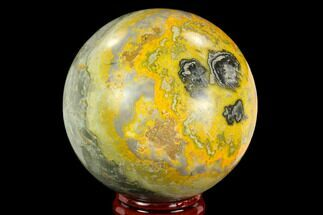 "Buy 2.4"" Polished Bumblebee Jasper Sphere - Indonesia - #121234"