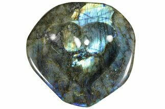 "6.7"" Flashy Labradorite Heart-Shaped Dish - Madagascar For Sale, #120173"