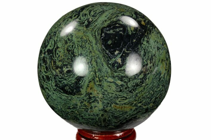"2.4"" Polished Kambaba Jasper Sphere - Madagascar"