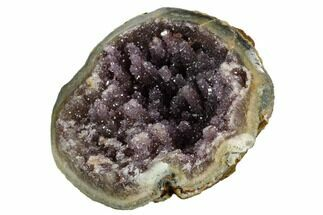"Buy 3.7"" Unique Amethyst Geode Section  - Uruguay - #121396"