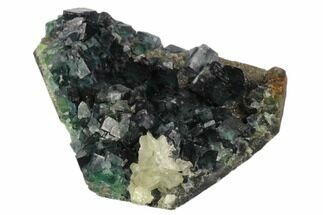 Fluorite, Calcite & Quartz - Fossils For Sale - #124839