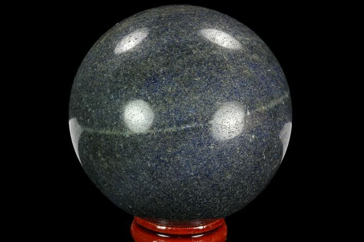 "2.6"" Polished Dumortierite Sphere - Madagascar"