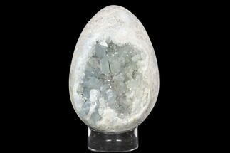 "Buy 7.4"" Crystal Filled, Celestine (Celestite) ""Egg"" - Madagascar - #126538"