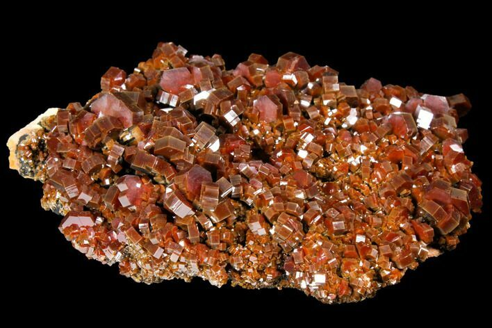 "4.6"" Gorgeous, Ruby Red Vanadinite Crystal Cluster - Morocco"