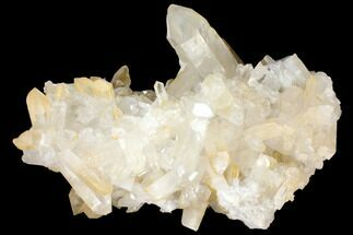 "Buy Large, 17.5"" Wide Quartz Crystal Cluster - Brazil - #127993"