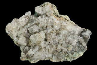 Aurichalcite & Calcite - Fossils For Sale - #127191