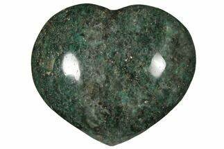"2.75"" Polished Fuchsite Heart - Madagascar For Sale, #126776"