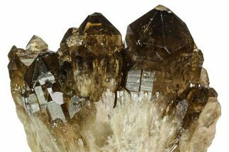 Quartz var. Citrine/Smoky - Fossils For Sale - #128424