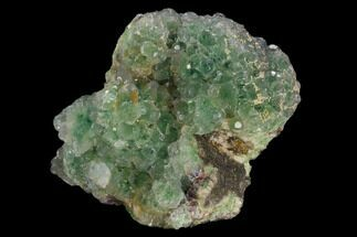 "4.3"" Green Fluorite Crystal Cluster - Fluorescent! For Sale, #128810"