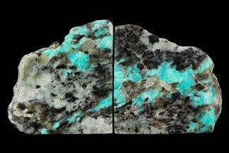 Microcline var. Amazonite & Quartz var. Smoky - Fossils For Sale - #129873