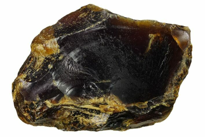 "3.7"" Rough Blue Indonesian Amber - West Java, Indonesia"