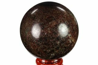 "2.4"" Polished Garnetite (Garnet) Sphere - Madagascar For Sale, #132071"
