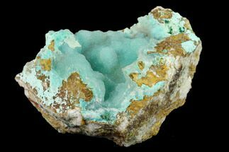 Quartz & Chrysocolla - Fossils For Sale - #132366