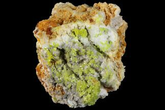 "Buy 1.6"" Vibrant Green Pyromorphite Crystal Cluster - China - #132757"