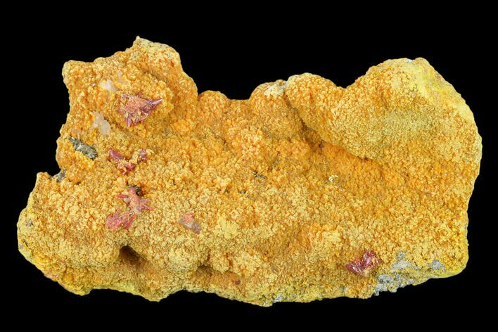"3.8"" Orpiment, Realgar and Barite Crystal Association - Peru"