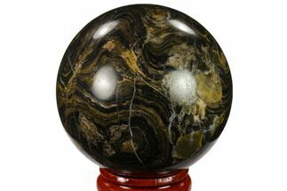 "Buy 2.05"" Polished Stromatolite (Greysonia) Sphere - Bolivia - #134725"
