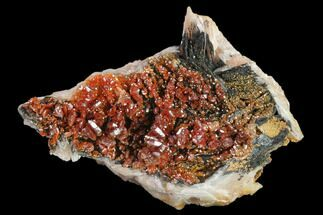 Vanadinite & Barite - Fossils For Sale - #134682