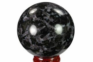 "Buy 2.3"" Polished, Indigo Gabbro Sphere - Madagascar - #135778"