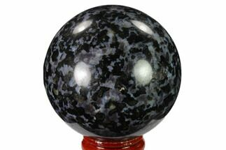 "Buy 2.4"" Polished, Indigo Gabbro Sphere - Madagascar - #135784"