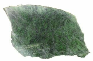 "13.5"" Polished Canadian Jade (Nephrite) Slab - British Colombia For Sale, #137297"