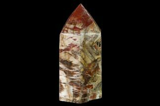 "Buy 6.6"" Colorful, Polished Petrified Wood Obelisk - Triassic - #137413"