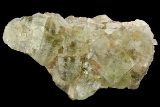 "2.5"" Light-Green, Cubic Fluorite Crystal Cluster - Morocco For Sale, #138245"