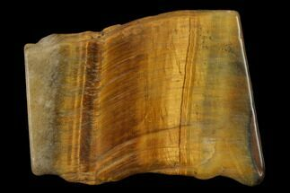 "Buy 1.8"" Polished Tiger's Eye Slab - South Africa - #140509"