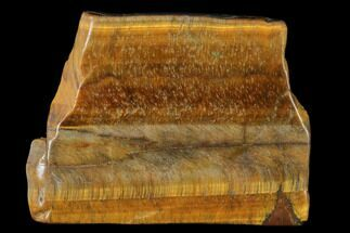 "2.2"" Polished Tiger's Eye Slab - South Africa For Sale, #140516"