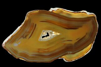 "Buy 5.1"" Polished, Banded Agate Slab - Brazil - #141214"