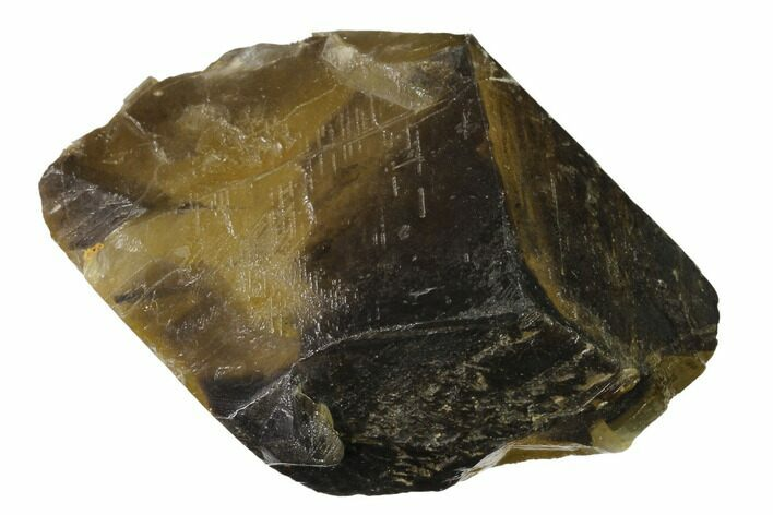 "3.3"" Golden, Beam Calcite Crystal - Morocco"