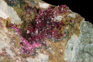 "Buy 2.8"" Roselite Crystal Cluster on Dolomite - Morocco - #141658"
