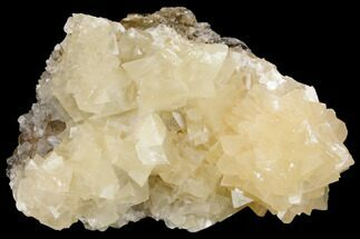 "4.6"" Fluorescent Calcite Crystal Cluster on Barite - Morocco For Sale, #141023"