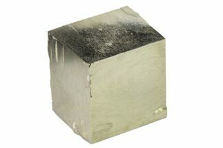 "Buy 1.17"" Natural Pyrite Cube - Victoria Mine, Spain - #144058"