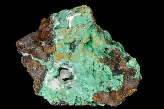 "2.45"" Malachite and Calcite Association - Zacatecas, Mexico For Sale, #144224"